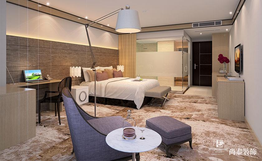 商务酒店式公寓装修效果图