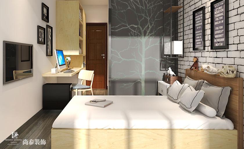 爱加青年公寓 | 青春活力正能量的家庭公寓装修效果图