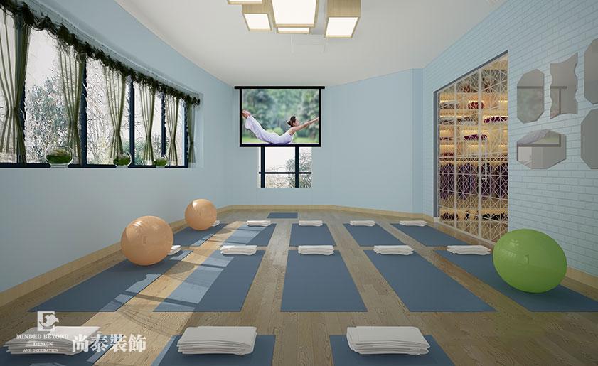 瑜伽会所装修效果图