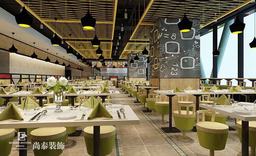 300a厨柜厨柜风格快餐店装修设计时尚设计师培训学校图片