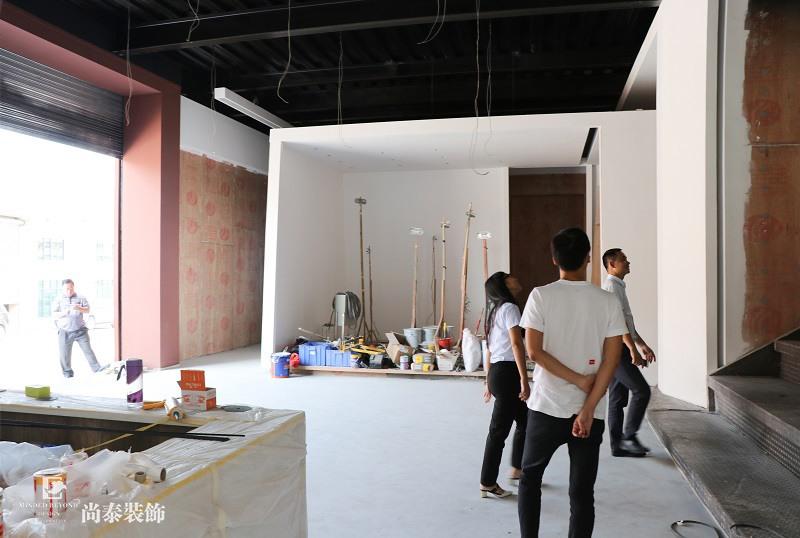 工地开放日,尚泰集团,研发基地展厅