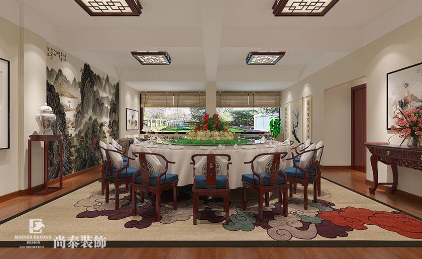 中式茶楼会所装修设计