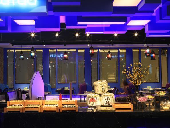 自助西餐厅亚搏体育app官方ios实景图-曼格海鲜