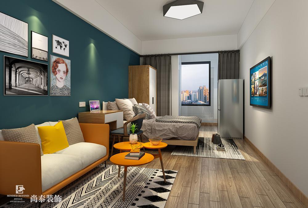 公寓装修设计效果图鉴赏,别具美学风格