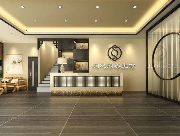 650㎡中式养生馆亚搏体育app官方ios设计 | 润芯养生馆