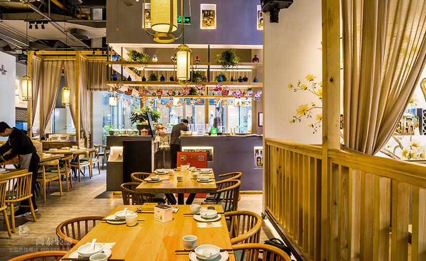 大型中式餐饮店装修效果图