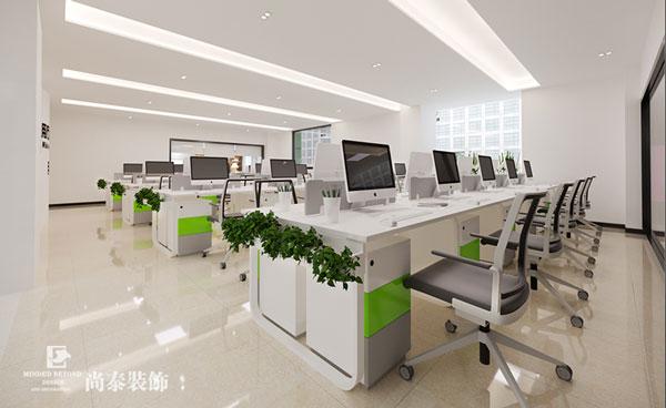 化妆品公司办公室装修效果图