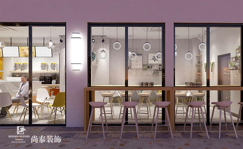 顾客喜欢什么样的奶茶店装修风格?