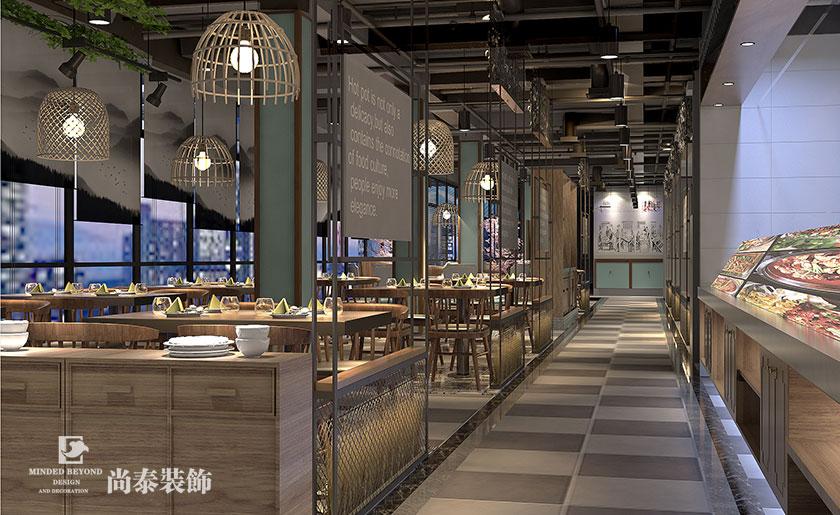 中式餐厅装修的几个细节