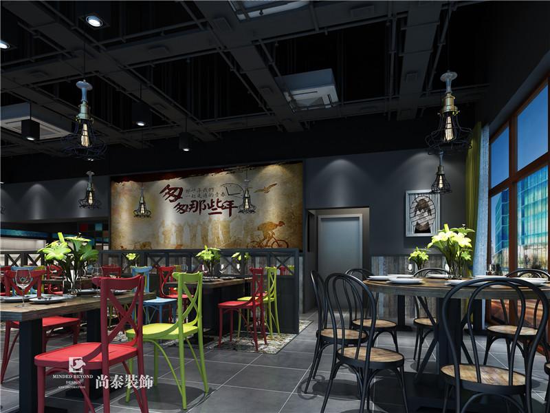 餐饮店面亚搏体育app官方ios效果图片