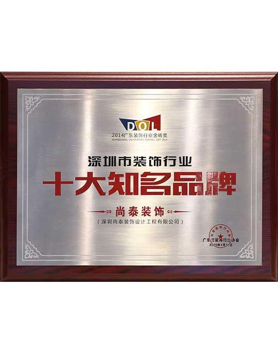 深圳十大知名品牌