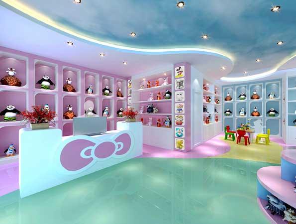 玩具教育空间亚搏体育app官方ios效果图-亲子梦工场