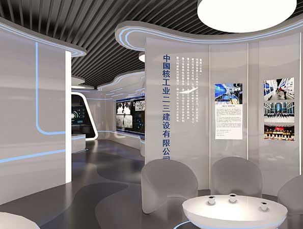 300平米现代科技展厅设计 | 中核