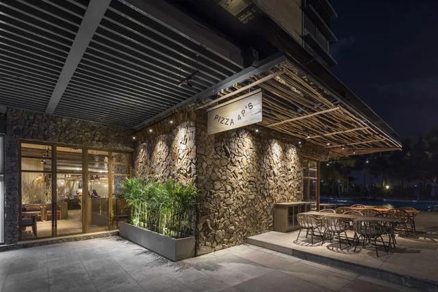 怎么用最简单的材料设计出最丰富的餐厅?