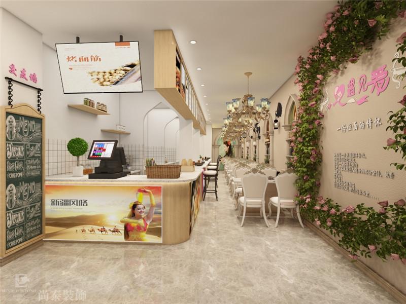 40平米餐饮店装多少钱?