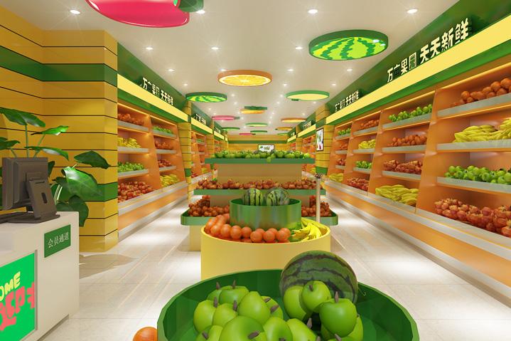 水果店如何亚搏体育app官方ios设计?